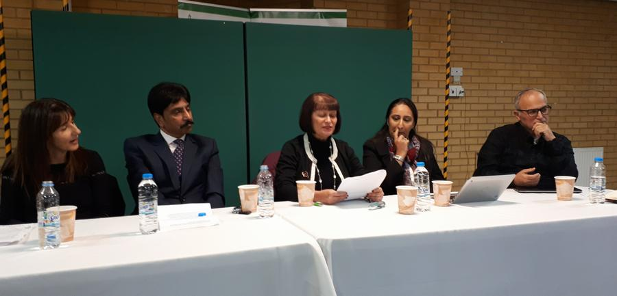 Photograph of Loose Lawyer's panel