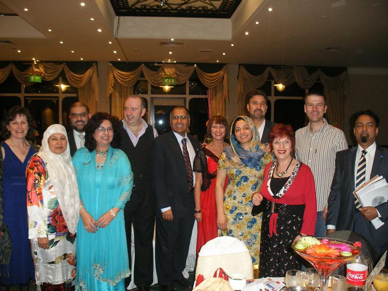 MJF members at the Post Yom Kippur and Eid party on 19 September 2010