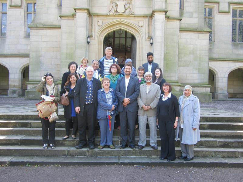 Group photo at British Muslim Heritage Centre